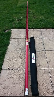6FT Smoke Pole & Carry Case, Heat Detector, 2 x Batteries, Charger & Kit Bag