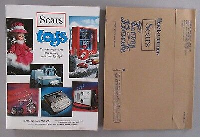 Sears Toys CATALOG - 1969 ~~ pre-Christmas, toy ~ nice condition