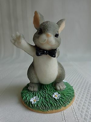 "Fritz & Floyd - The Best Bunny"" - Charming Tails - Rabbit Figurine"