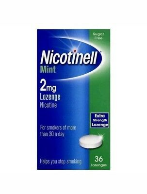 Nicotinell Lozenge Mint 2mg - 36 Lozenges