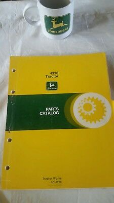 John Deere 4320 Tractor Parts Catalog Very Good Condition