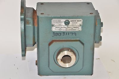 NEW GROVE GEAR FLEXALINE HMQ224-1 GEAR REDUCER 1.82 HP 20:1 Ratio 50C