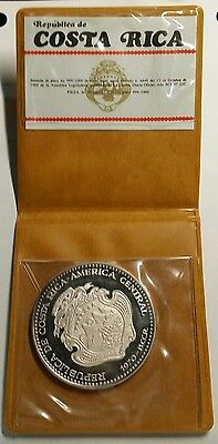 "1970 Costa Rica .999 Silver Proof 20 Colones ""Venus De Milo"" Free Shipping!"