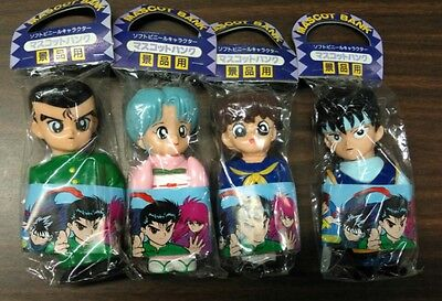 Yu Yu Hakusho - Soft Vinyl Coin Bank Figure 4 piece Set - Amuse Japan
