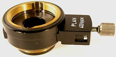 Carl Zeiss Plan 40X/0.65K Wollaston Prism Slide with Mount for DIC Applications!