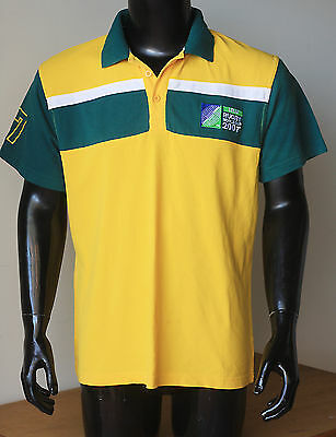 iRB RUGBY WORLD CUP 2007 POLO JERSEY M
