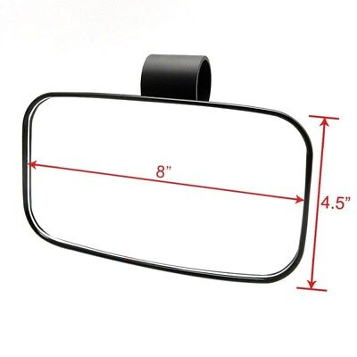 "1.75"" Clamp Rear View Mirror for UTV Off Road Large 2' Can-am Commander Maverick"