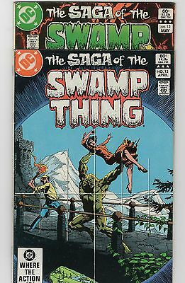 The Saga of Swamp Thing #12-13 (DC, 1983) Two Issue Lot!