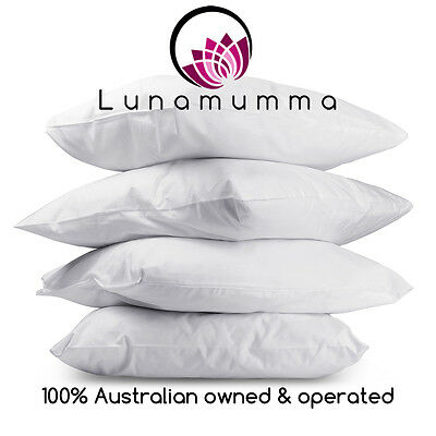 Set of 4 Pillows - Medium or Firm - Great Value & Quality