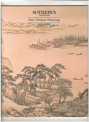 Sotheby's Catalog, Fine Chinese Paintings, New York, June 1, 1992
