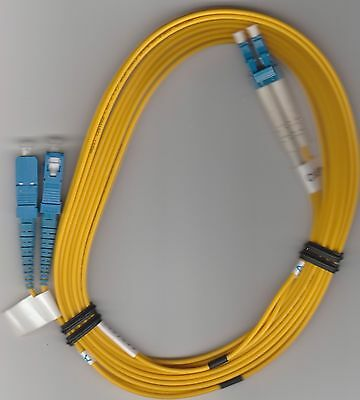 3M LC/SC DX SM 9/125 Yellow, Fiber Optic Patch Cable #1467803