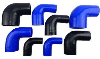 Silicone Hose 90 degree Elbow Bend Black Blue Silicon Intercooler Intake Pipe