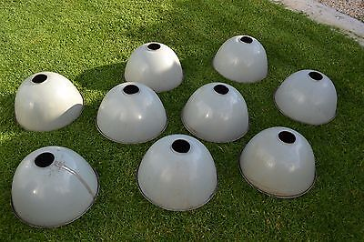 Vintage Industrial Rustic Grey  Light Shades X 9 FAMCO  Bar Shed