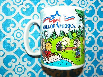 NEW Vintage 'Larry' Camp Snoopy Mall Of America Peanuts Charlie Brown Mug #X2