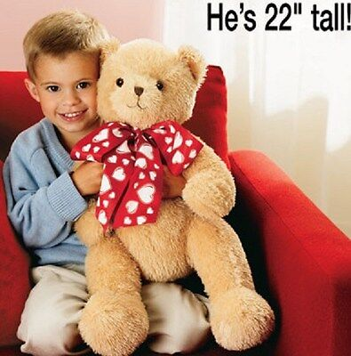 AVON 2006 CUTIE BEAR THE HOLIDAY HUGGABLE 22 in TALL-NEW IN PKG-FREE SHIPPING