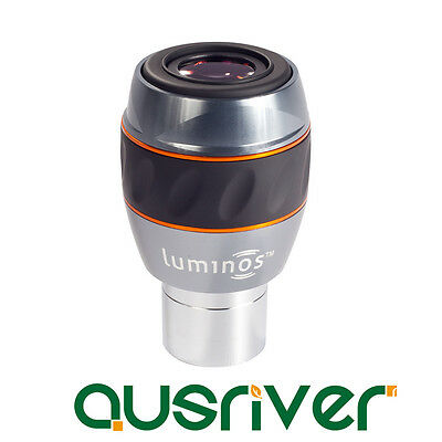 Celestron Luminos 7 mm Eyepieces with Wide 82º Views Fully Multi Coated 93430