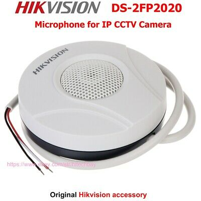Hikvision DS-2FP2020 Original Hi-Fi Microphone for CCTV Camera