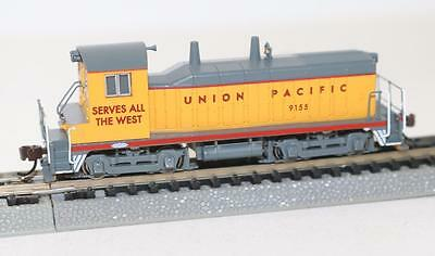 Bachmann US N 1:148 NW-2 Diesel Switcher Loco Union Pacific DCC 61651 FNQHobbys