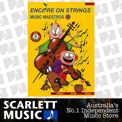 Encore on Strings Music Maestros for Violin - Book 2 ( Two / Second ) with CD