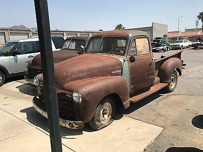 1950 Chevrolet Other Pickups  1950 and 1951 chevy trucks 2 for one