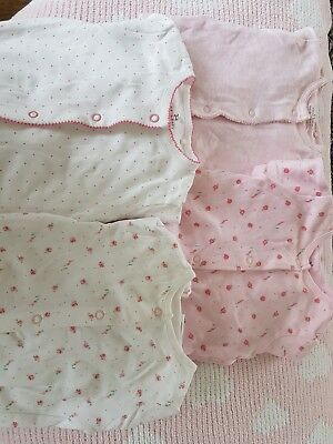 Baby girl babgrows. NEXT 0-3 months bundle. Really pretty on.
