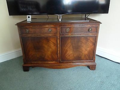 Antique style 'flame mahogany'  TV Stand Bevan Funnell