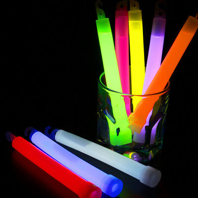 6 inch 15*150MM Lanyard Glow Stick Chemlight Snaplight Outdoor camping Props 1PC