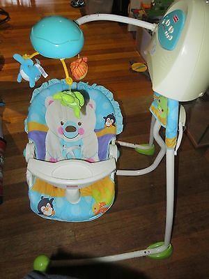 Fisher Price Precious Planet baby swing
