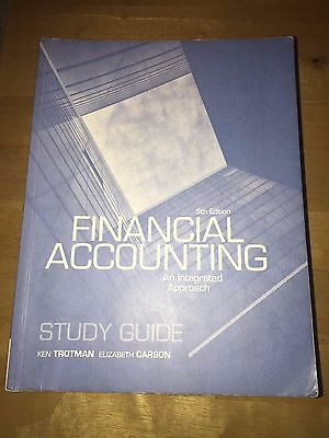 Financial Accounting Study Guide 5th Edition Textbook