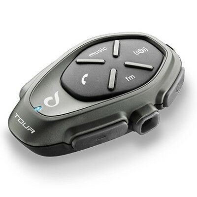 INTERPHONE Tour Single Pack Motorcycle Bluetooth Communication Intercom System