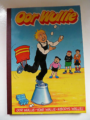 OOR WULLIE 1990 For Boys & Girls British Annual By D.C Thomson.