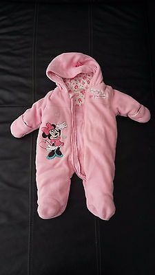 Combinaison hiver Disney Baby  Nouveau né Newborn up to 4.5kg Rose fille BE