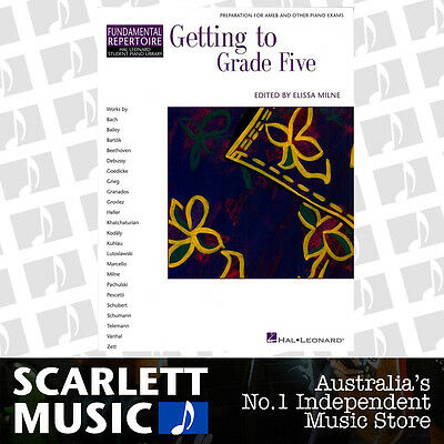 Getting to Grade Five ( 5 / Fifth ) Piano Book HLSPL 2nd Edition *BOOK ONLY*