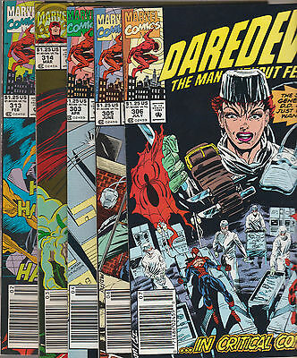 Mixed Lot With Daredevil & Avengers *great Lot Of Marvel Comics*