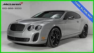 2010 Bentley Continental GT Supersports Coupe 2-Door 2010 Used Turbo 6L W12 48V Automatic AWD Coupe Premium