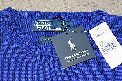 POLO Ralph Lauren Sweater ~ Blue ~ Men's XL ~ New with tags