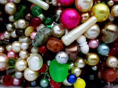 Four And A Half Pounds Of Vintage Czeck Beads Very Nice