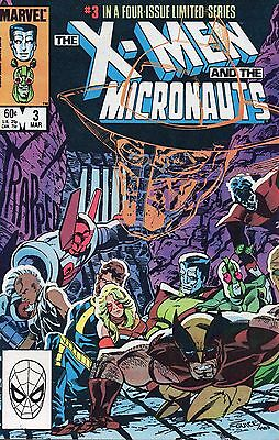 X-Men And The Micronauts 3. VFN.