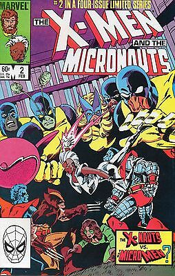 X-Men And The Micronauts 2. VFN.