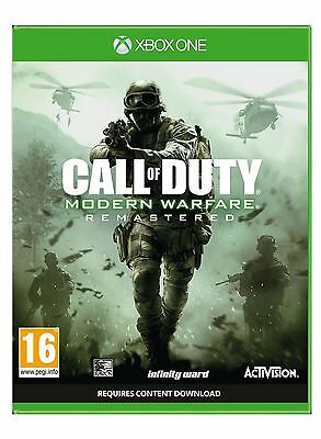 Call Of Duty Modern Warfare Remastered (XBOX ONE) BRAND NEW SEALED INSTOCK