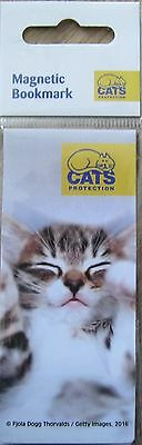 Cats Protection Magnetic Bookmark - charity item