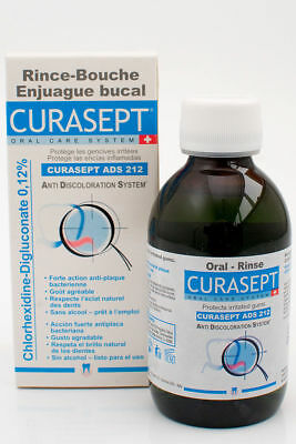 Curasept 212 Anti-Discolouration System Rinse 200ml