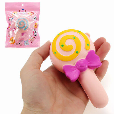 NO NO Squishy Lollipop Candy Bar Sweet 12cm Slow Rising With Packaging Collectio