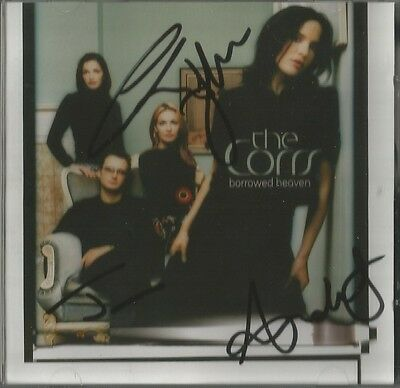 "THE CORRS Hand signed CD ""Borrowed Heaven"" Autograph rare"
