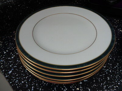 Boots Hanover Green Side Plates  X 6