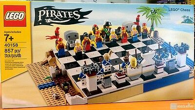 LEGO Pirates Chess Set 40158 Brand NEW and Sealed