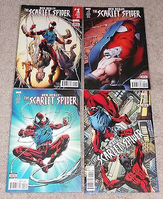 Ben Reilly:  The Scarlet Spider - Issues 1, 2, 3 & 4