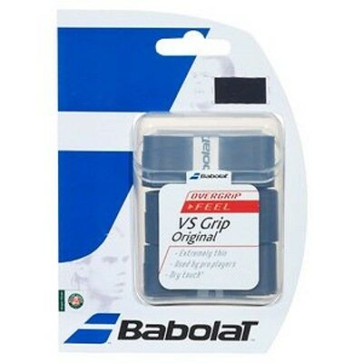NEW Babolat VS Grip Original OVERGRIP Tennis Overgrip - 3 Three /Pack- Blue