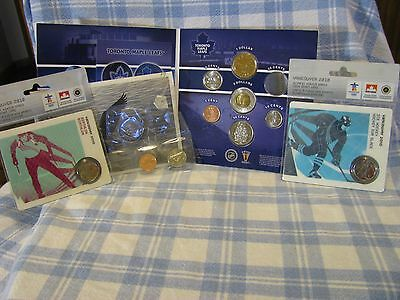 Canada  Mint.  Partial Mint Packaged Coins