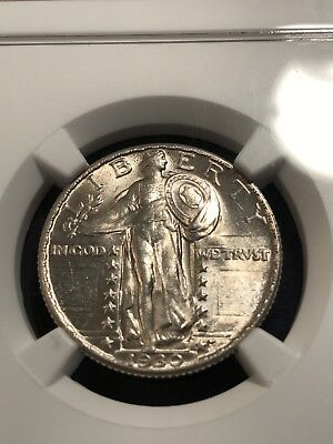 1930 Standing Liberty Quarter - NGC MS63 FH
